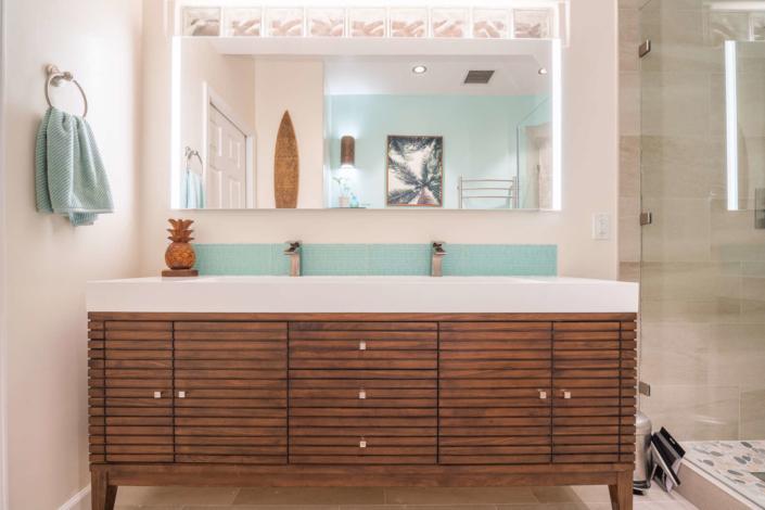 Nautical Themed Bathroom - San Jose, CA