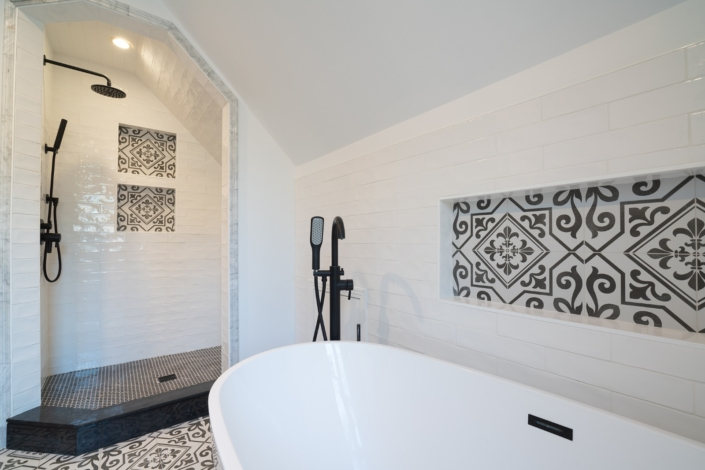 Modern Barn Bathroom - Redwood City, CA
